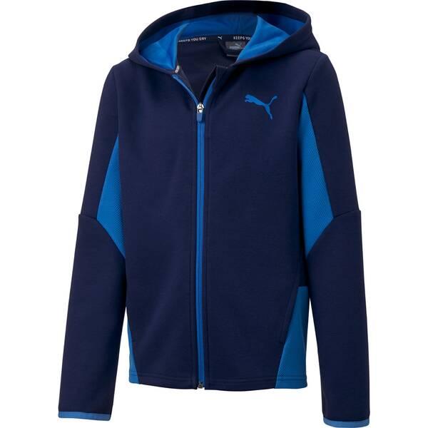 PUMA Kinder Active Sports Hooded Jacke