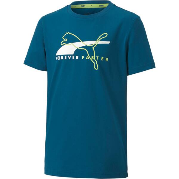 PUMA Kinder Shirt Alpha Graphic