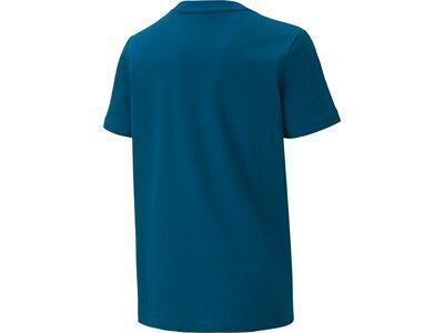 PUMA Kinder Shirt Alpha Graphic Blau