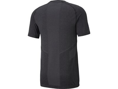 PUMA Herren Shirt EVOSTRIPE Seamless Tee Grau