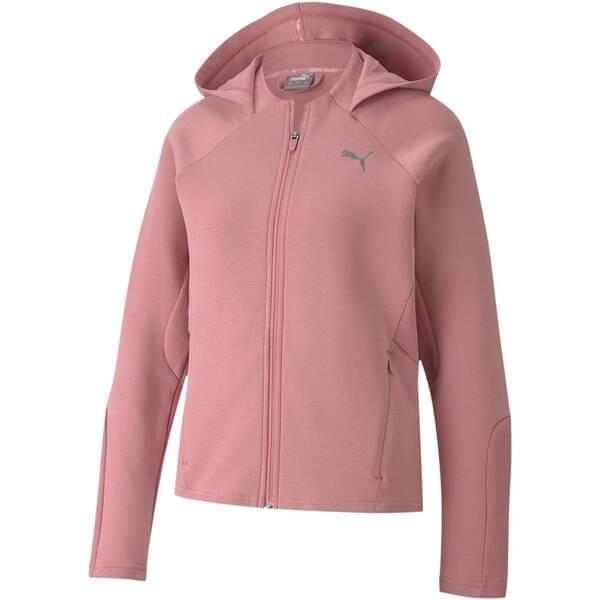 PUMA Damen Sweatshirt Evostripe Full-Zip