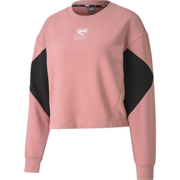 PUMA Damen Sweatshirt Rebel Crew TR