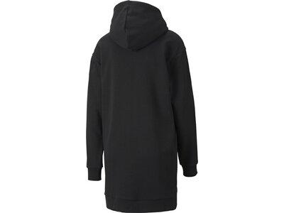 PUMA Damen Kleid Amplified Hooded Schwarz