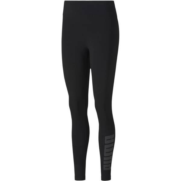 Hosen - PUMA Damen Tight Modern Basics › Schwarz  - Onlineshop Intersport