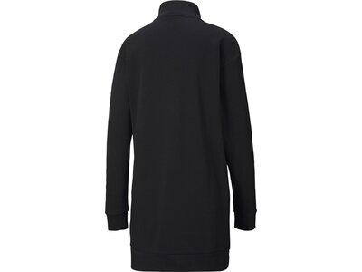 PUMA Damen Kleid ESS Half-Zip Schwarz