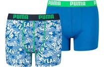 Vorschau: PUMA Kinder Unterhose PLAY LOUD PRINT BOXER 2P