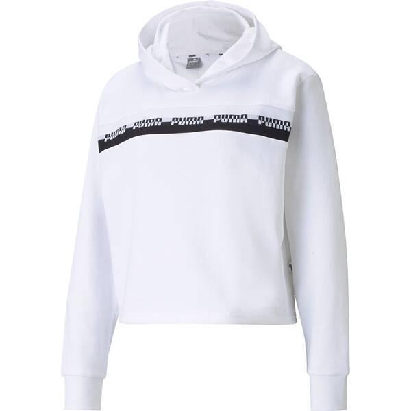 PUMA Damen Sweatshirt Amplified Cropped