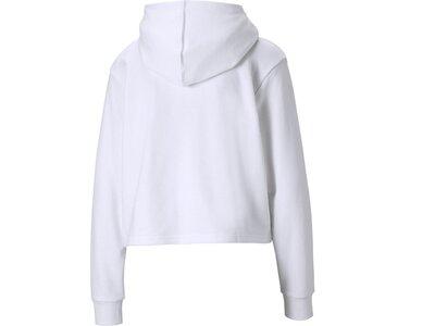 PUMA Damen Sweatshirt Amplified Cropped Pink