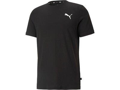PUMA Herren Shirt ESS Small Logo Tee Schwarz