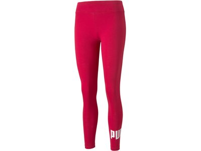 PUMA Damen Tight ESS Logo Leggings S Rot
