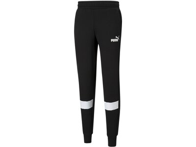 PUMA Herren Sporthose ESS Colorblock Pants FL cl Schwarz