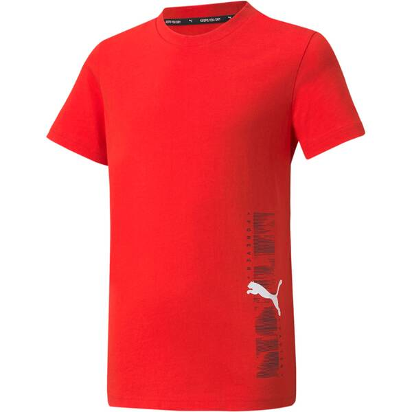 PUMA Kinder Shirt Active Sport Graphic Tee B