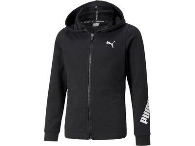 PUMA Kinder Sweatshirt Modern Sports Full-Zip Hoo Schwarz