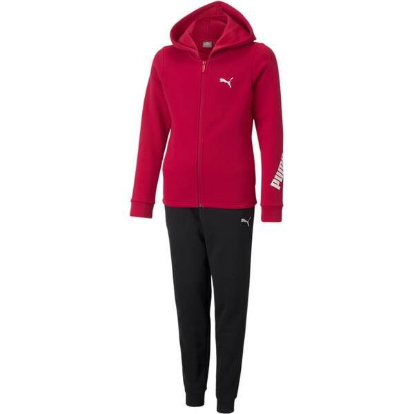 PUMA Kinder Sportanzug Hooded Sweat Suit FL cl G