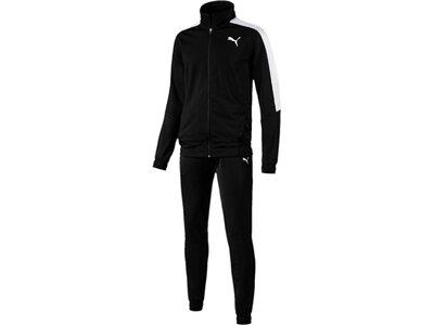 PUMA Herren Trainingsanzug Classic Tricot Suit CL Schwarz