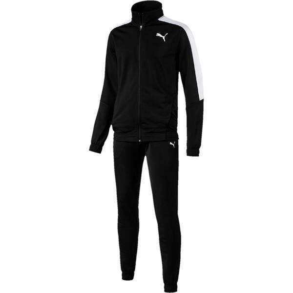 PUMA Herren Trainingsanzug Classic Tricot Suit CL | Sportbekleidung > Sportanzüge > Trainingsanzüge | Black - White | PUMA
