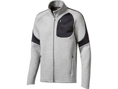 Puma Herren Sweatshirt Evostripe Move Jacket Silber