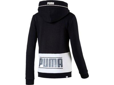 Puma Kinder Sweatshirt Style FZ Hoody Schwarz