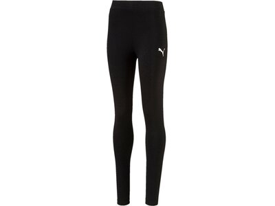 Puma Kinder Tight Style Leggings Schwarz