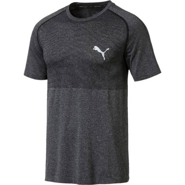 PUMA Herren Shirt evoKNIT Grau