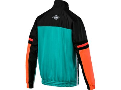 PUMA Herren Trainingsjacke luXTG Woven Jacket Orange
