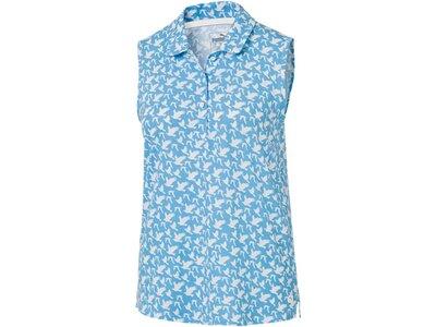 PUMA Damen Polo Flight Sleeveless Blau