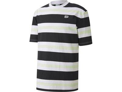 PUMA Herren Shirt Downtown Striped Grau