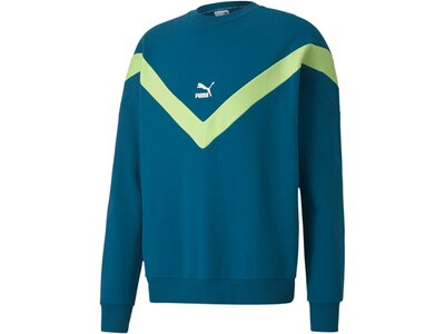 PUMA Herren Sweatshirt Iconic MCS Crew Grün
