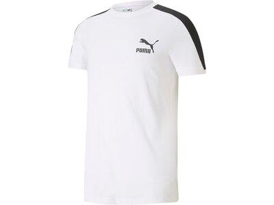 PUMA Herren Shirt Iconic T7 Tee Weiß