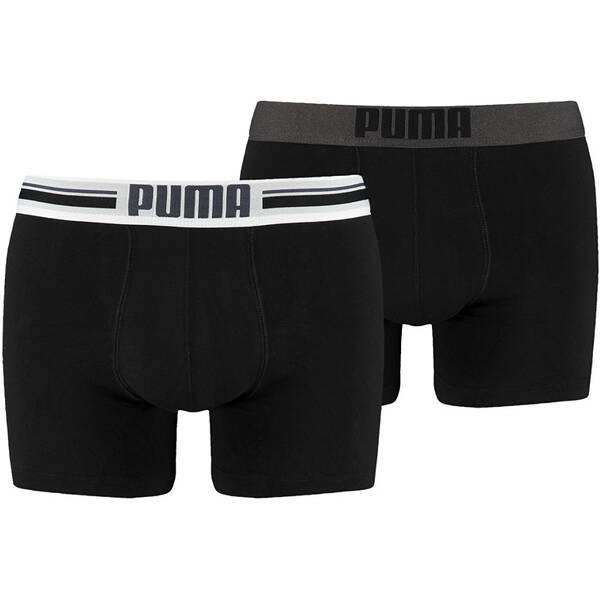 PUMA Herren Unterhose PLACED LOGO BOXER 2P