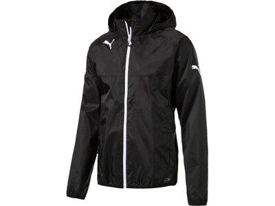 PUMA Kinder Trainingsjacke Rain Jacket Schwarz
