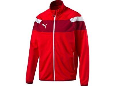 Puma Herren Jacke Spirit II Polyester Tricot Jac Rot