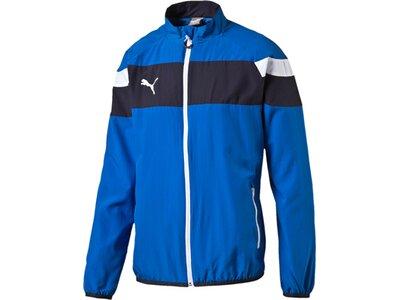 Puma Herren Jacke Spirit II Woven Jacket Blau