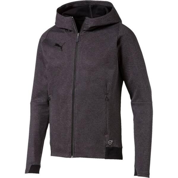PUMA Herren Hoodie FINAL Casuals Hooded Jacket Grau