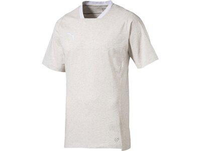 PUMA Herren T-Shirt FINAL Casuals Tee Grau