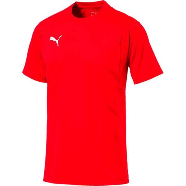 PUMA Herren T-Shirt LIGA Training Jersey | Sportbekleidung > Sportshirts > Poloshirts | Red - White | Puma
