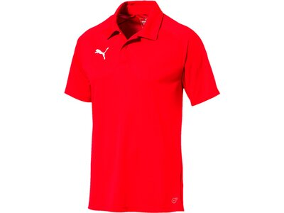 PUMA Herren Poloshirt LIGA Sideline Polo Rot