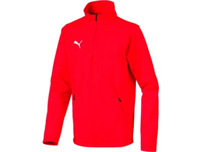 PUMA Fußball - Teamsport Textil - Sweatshirts LIGA Training Fleece Sweatshirt Kids Rot