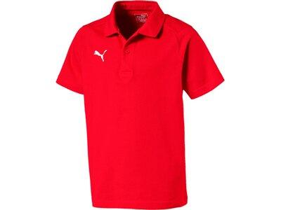 PUMA Kinder Poloshirt LIGA Casuals Polo Jr Rot