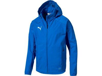 PUMA Herren Regenjacke LIGA Training Rain Jacket Blau