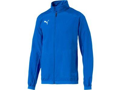 PUMA Herren Jacke LIGA Sideline Jacket Blau