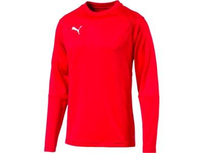 PUMA Herren Sweatshirt LIGA Training Sweat Rot