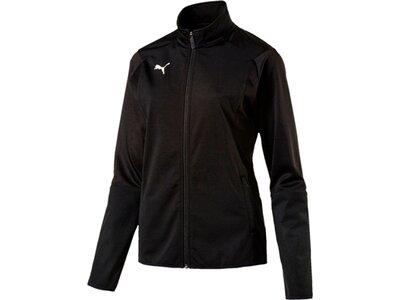 PUMA Damen Trainingsjacke LIGA Training Jacket W Schwarz