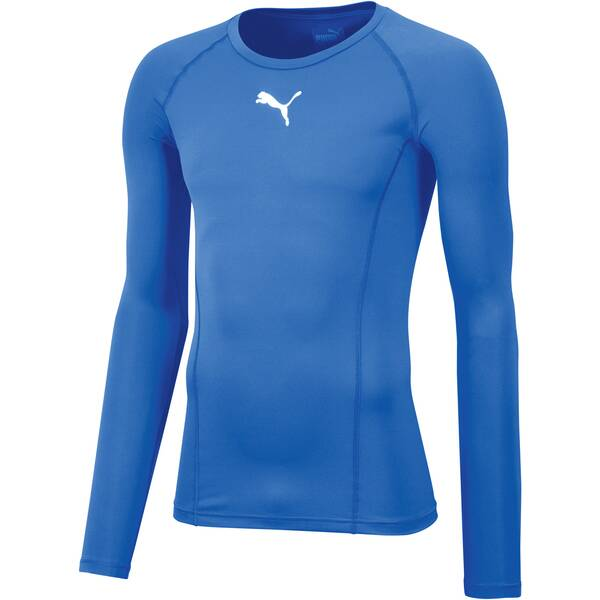 PUMA Kinder T-Shirt LIGA Baselayer Tee LS Jr