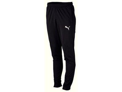 PUMA Fußball - Teamsport Textil - Hosen LIGA Sideline Polyesterhose Schwarz