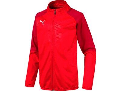 PUMA Kinder Trainingsjacke CUP Training Poly Jacket Core Rot
