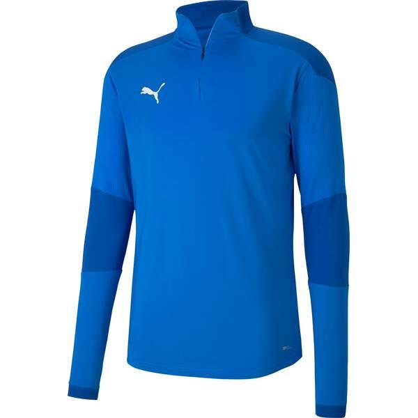 PUMA Herren Sweatshirt teamFINAL 21 Training 1/4