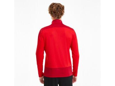 PUMA Herren Sweatshirt teamGOAL 23 Training 1/4 Rot