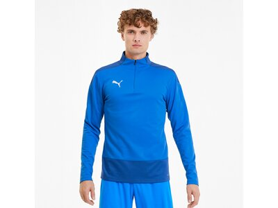 PUMA Herren Sweatshirt teamGOAL 23 Training 1/4 Blau