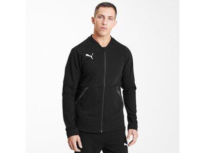 PUMA Fußball - Teamsport Textil - Jacken teamFINAL 21 Casuals Jacket Jacke Schwarz